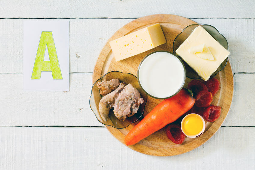 Benefits of Vitamin A for the Baby